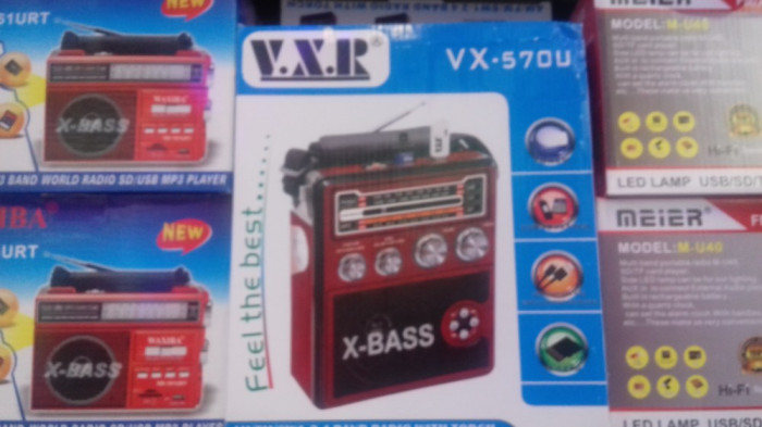 Radio portabil VXRVX-570U