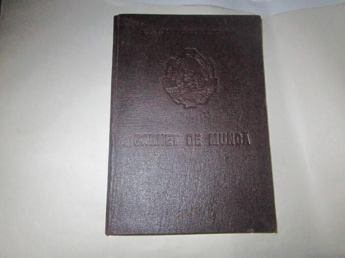 carte de munca pentru inginer foraj a7