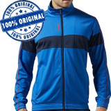 Bluza Reebok TS Tricot pentru barbati - bluza originala, XL, Cu fermoar, Poliester, Reebok Classic