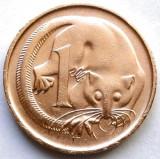 AUSTRALIA , 1 CENT 1973 , OPOSUMUL PLANOR !!!, Australia si Oceania