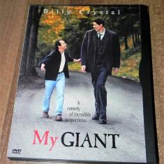DVD original My Giant / uriasul meu cu Billy Crystal si Ghita Muresan, Altele