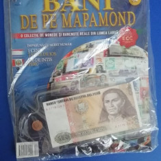 RWX 81 - BANI DE PE MAPAMOND - NUMARUL 52 - IN AMBALAJUL ORIGINAL!!!