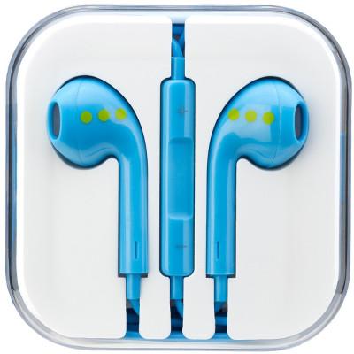 Casti Audio Cu Microfon Albastru foto