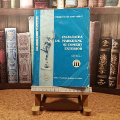 """L. Serbulescu - Facultatea de marketing si comert exterior Sint An III """"A6153"""""""