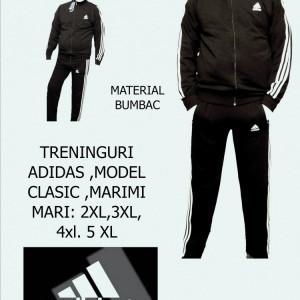 TRENINGURI BATAL- BUMBAC,MARIMI MARI  2xl- 5 xl  ,MODEL CLASIC,PANTALONI DREPTI