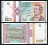 1000 LEI 1991 SERIE CU PUNCT UNC NECIRCULATA