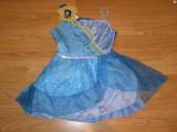 Costum carnaval serbare zana silvermist pentru copii de 4-5-6 ani, 4-5 ani