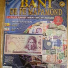RWX 81 - BANI DE PE MAPAMOND - NUMARUL 20 - IN AMBALAJUL ORIGINAL!!!