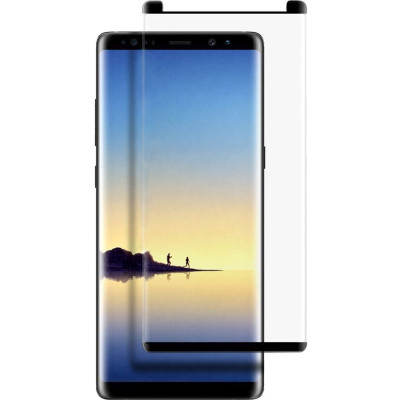 Sticla Securizata Full Body 3D Curved Negru SAMSUNG Galaxy Note 8 foto