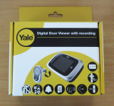 Vizor usa apartament cu ecran digital Yale JY7001(inregistrare si fotografiere)