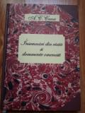 A.C. Cuza - Insemnari din viata si documente omenesti (Memorii)