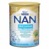 Lapte Praf NAN Fara Lactoza, 400 g, Nestle
