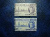 SIERRA LEONE 1946 VICTORIA MH+, Nestampilat