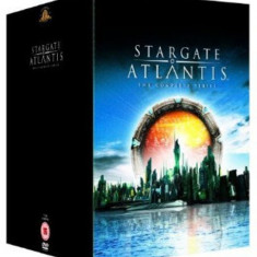 FIlm Serial Stargate Atlantis - Seasons 1-5 - Complete Collection [DVD] Box Set, SF, Engleza, independent productions