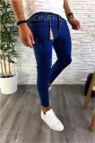 Blugi premium - conici albastri pentru barbati - LICHIDARE DE STOC A2332 D4-4