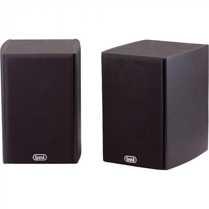Boxe Amplificatoare 2-Way 80W Maro
