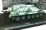 Macheta tanc SU-122 Easter Front - 1945 scara 1:72