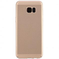 Husa Capac Spate Dot Auriu Samsung Galaxy S7 Edge