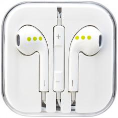 Casti Audio Cu Microfon Alb