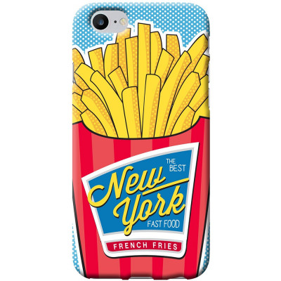 Husa Capac Spate French Fries Apple iPhone 7, iPhone 8 foto