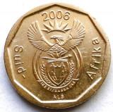 AFRICA DE SUD , 10 CENTS 2006 , STEMA NOUA CU DIAMANT !!!