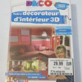 Joc PC - D & Co decorator interior 3D versiune 2009 - original nou sigilat