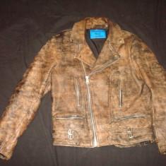 Geaca barbati, Moto/Motor/Biker/Casual PHANTASM Real Leather/vintage/colectie, L, Din imagine, Piele