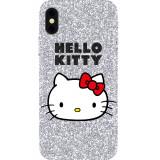Husa Capac Spate Glitter Hello Kitty APPLE iPhone Xs Max