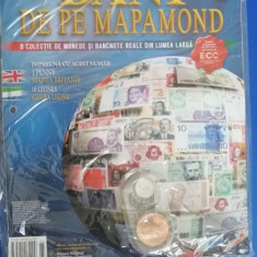 RWX 81 - BANI DE PE MAPAMOND - NUMARUL 65 - IN AMBALAJUL ORIGINAL!!!