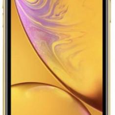 Telefon Mobil Apple iPhone XR, LCD Liquid Retina HD 6.1inch, 128GB Flash, 12MP, Wi-Fi, 4G, Dual SIM, iOS (Yellow), Galben, Neblocat