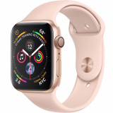 Smartwatch Watch 4 GPS 40MM Aluminiu Auriu Si Curea Sport Roz, Apple