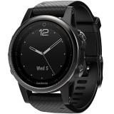Smartwatch Fenix 5s Sapphire Edition Otel Inoxidabil Negru, Garmin