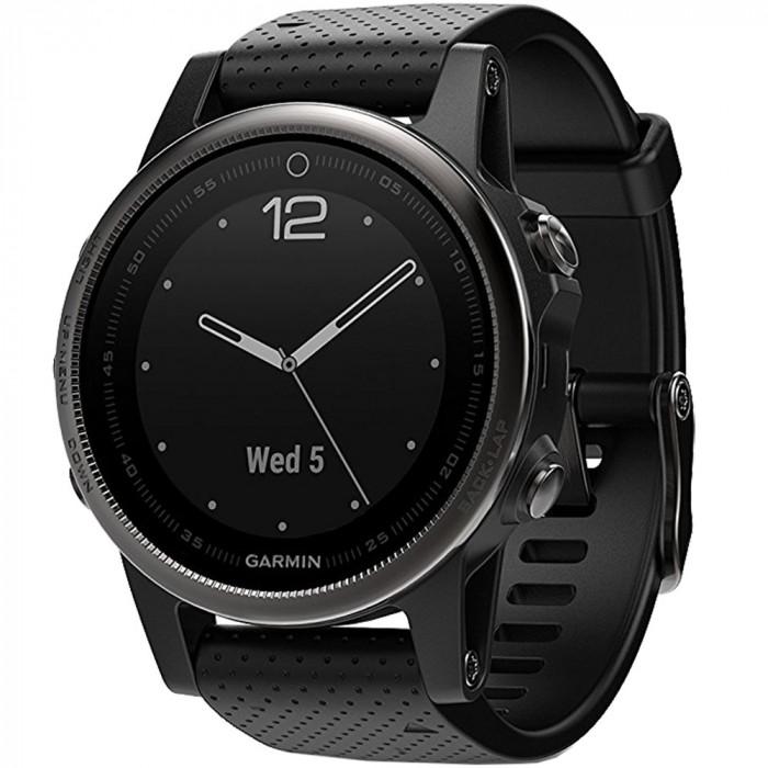 Smartwatch Fenix 5s Sapphire Edition Otel Inoxidabil Negru