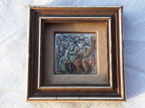 TABLOU argint SPLENDID in miniatura Manopera EXCEPTIONALA ornament SUPERB