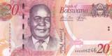 Bancnota Botswana 20 Pula 2009 - P31a UNC