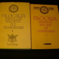 FILOCALIA SFINTELOR NEVOINTE ALE DESAVIRSIRII-VOL1=461 PG -VOL2=276 PG-, Alta editura