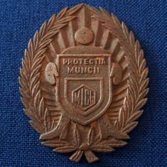 Medalie - placheta unifata Protectia Muncii