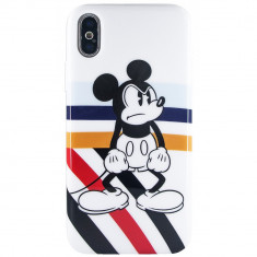 Husa Capac Spate Angry Mickey Mouse APPLE iPhone Xs foto