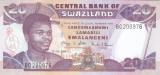 Bancnota Swaziland 20 Emalangeni 2006 - P30c UNC