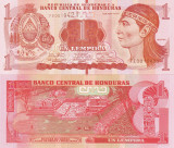 HONDURAS 1 lempira 2014 UNC!!!