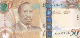Bancnota Botswana 50 Pula 2009 - P32a UNC