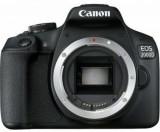 Aparat Foto D-SLR Canon EOS 2000D, Body, 24.1 MP, Ecran 3inch LCD, Filmare Full HD (Negru)