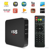 TV Box Mini PC Scishion V88 ,4k-3D , 1gb,8gb,Android 7.1,Wi-Fi, Nou Nefolosit.