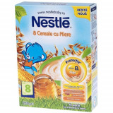 8 Cereale cu Miere, 250 g, Nestle