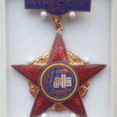 Insigna - Fruntas in intrecere - 1972