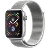 Smartwatch Watch 4 GPS 44MM Aluminiu Argintiu Si Curea Loop Argintiu, Apple