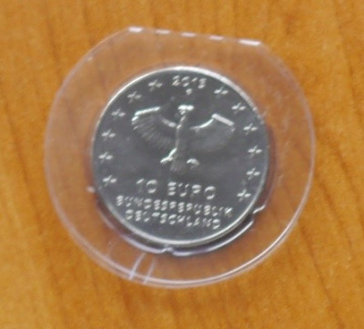 Germania 2013 , moneda 10 euro din argint , 925 ; 18 grame ; diametru : 32,5 mm foto