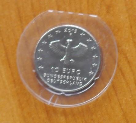 Germania 2013 , moneda 10 euro din argint , 925 ; 18 grame ; diametru : 32,5 mm