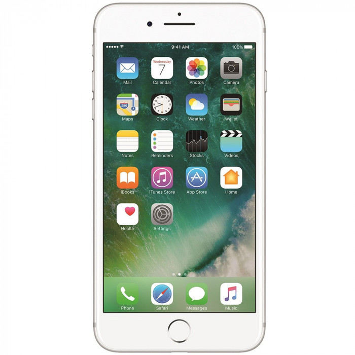 IPhone 7 Plus 128GB LTE 4G Argintiu Factory Refurbished 3GB RAM