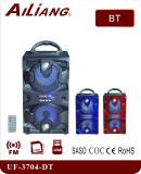 Boxa portabila UF-3704-DT cu Bluetooth și microfon, Boxe podea, 0-40W